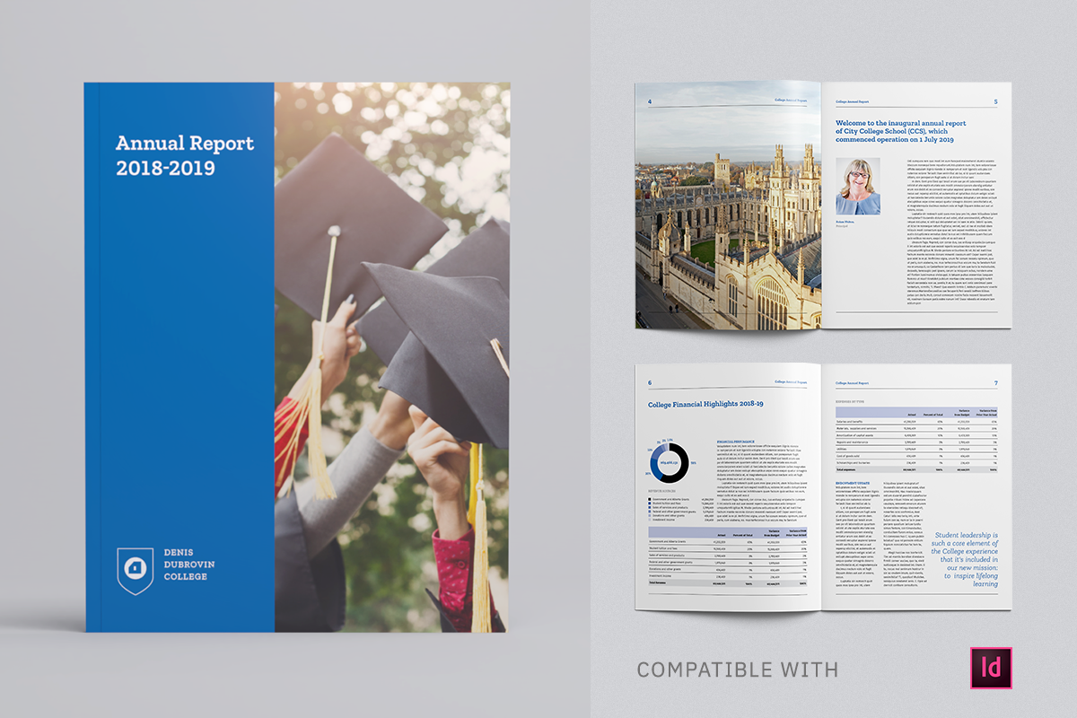 College Annual Report Template