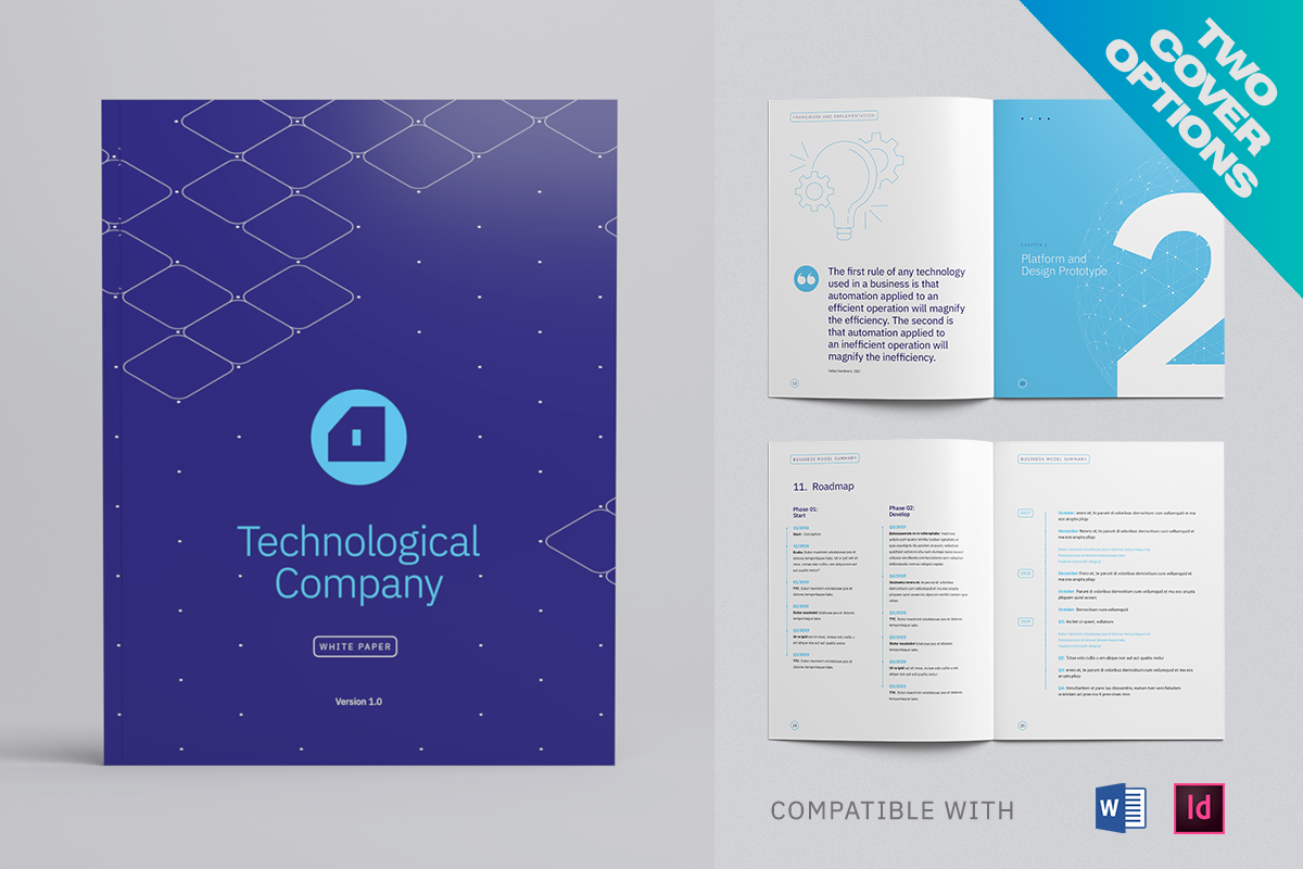 White Paper Template, Whitepaper Template