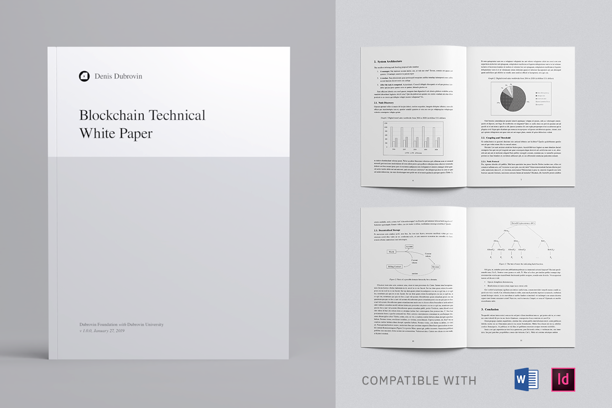 Technical White Paper Template, Whitepaper Template