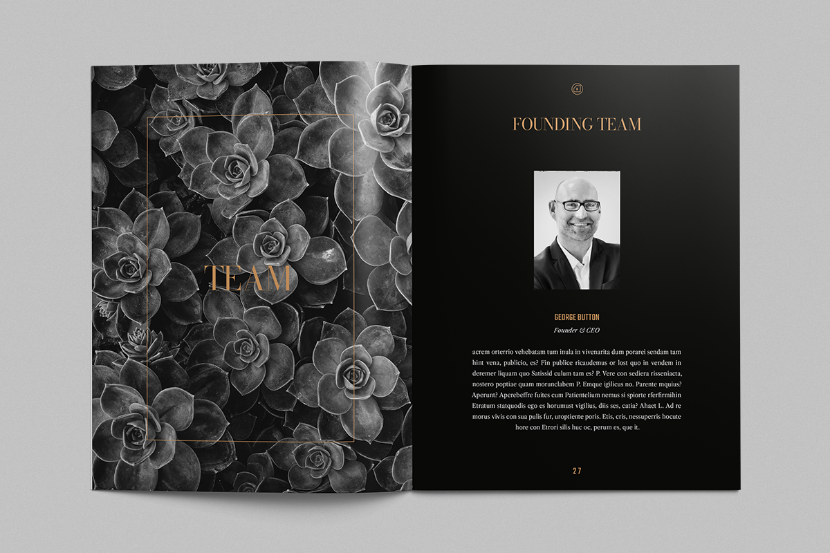 Luxury White Paper, Whitepaper Template